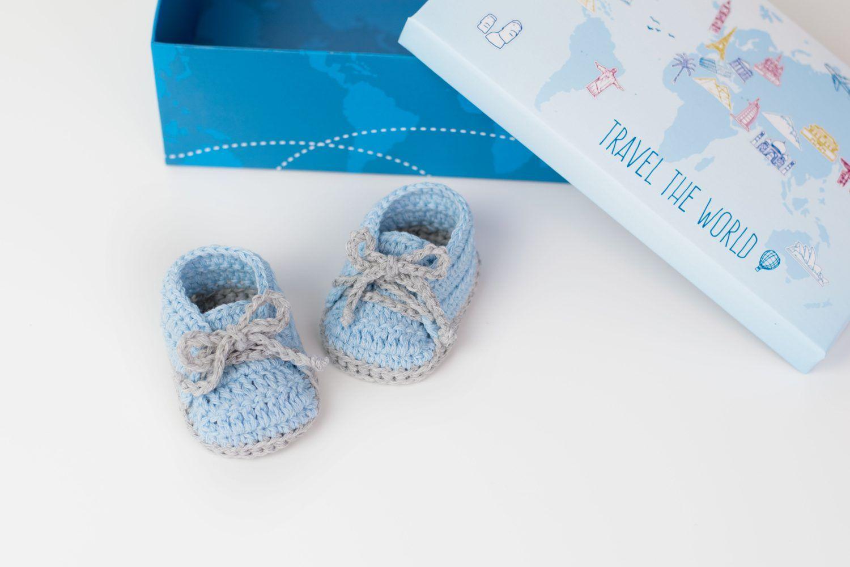 FREE PATTERN: Crochet Baby Sneakers   Bebé   Pinterest   Bebé, Bebe ...