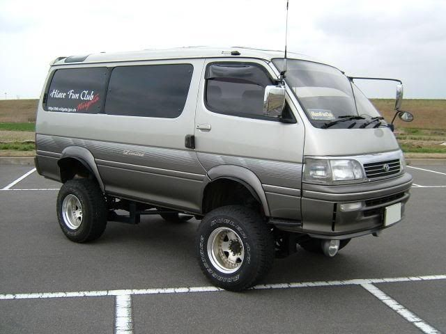 ed0111e861 Toyota Hiace 4x4