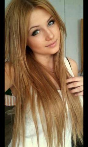 Blond orange haare braun farben