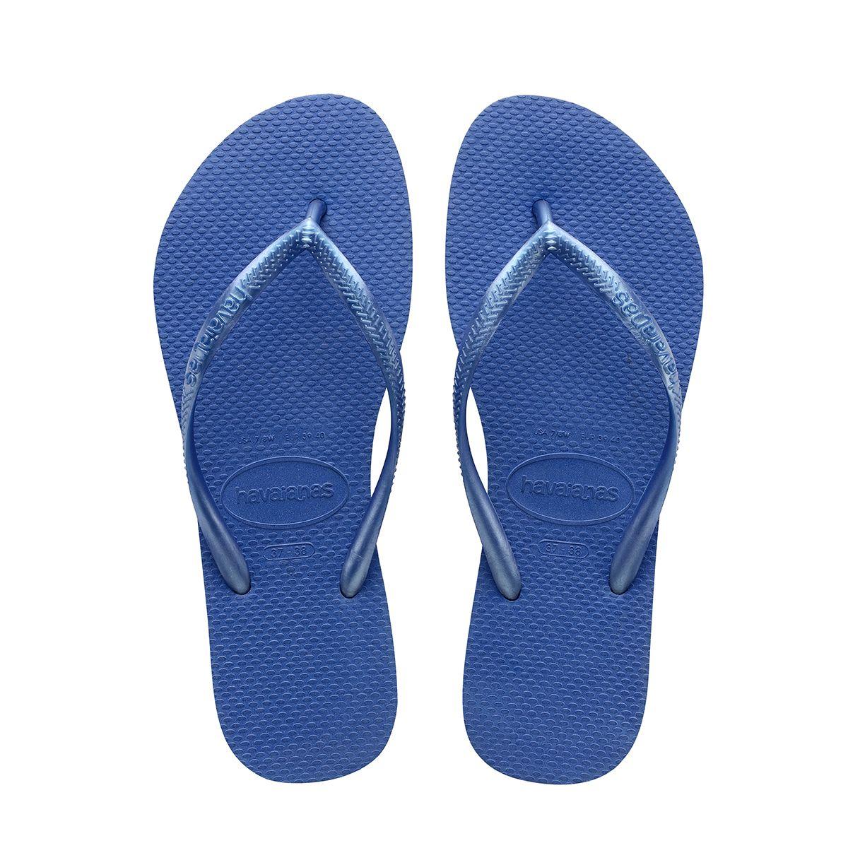 Slim Sandal Light Blue Havaianas With Images Black Flip Flops Blue Flip Flops