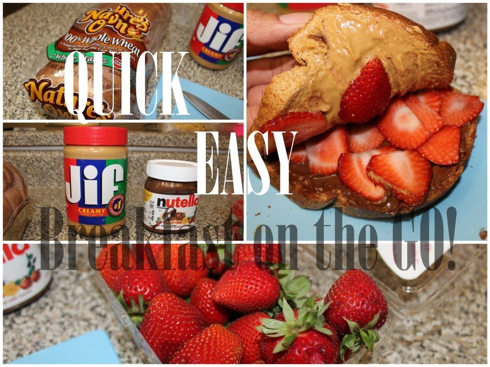 EASY: HEALTHY breakfast on the go in less than 5 MINUTES! Meal prepping made easy for people who have no time in the morning. Super healthy and delicious recipe.