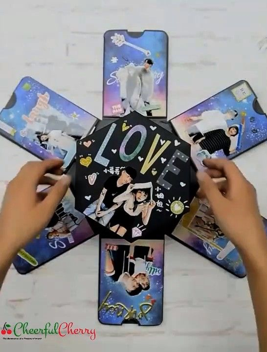 Love Explosion Gift Box  Surprise Love Explosion Gift Box  Cheerful Cherry  CheerfulCherryShop DIY 2999The gift is the most exciting part for everyone during holidays and...