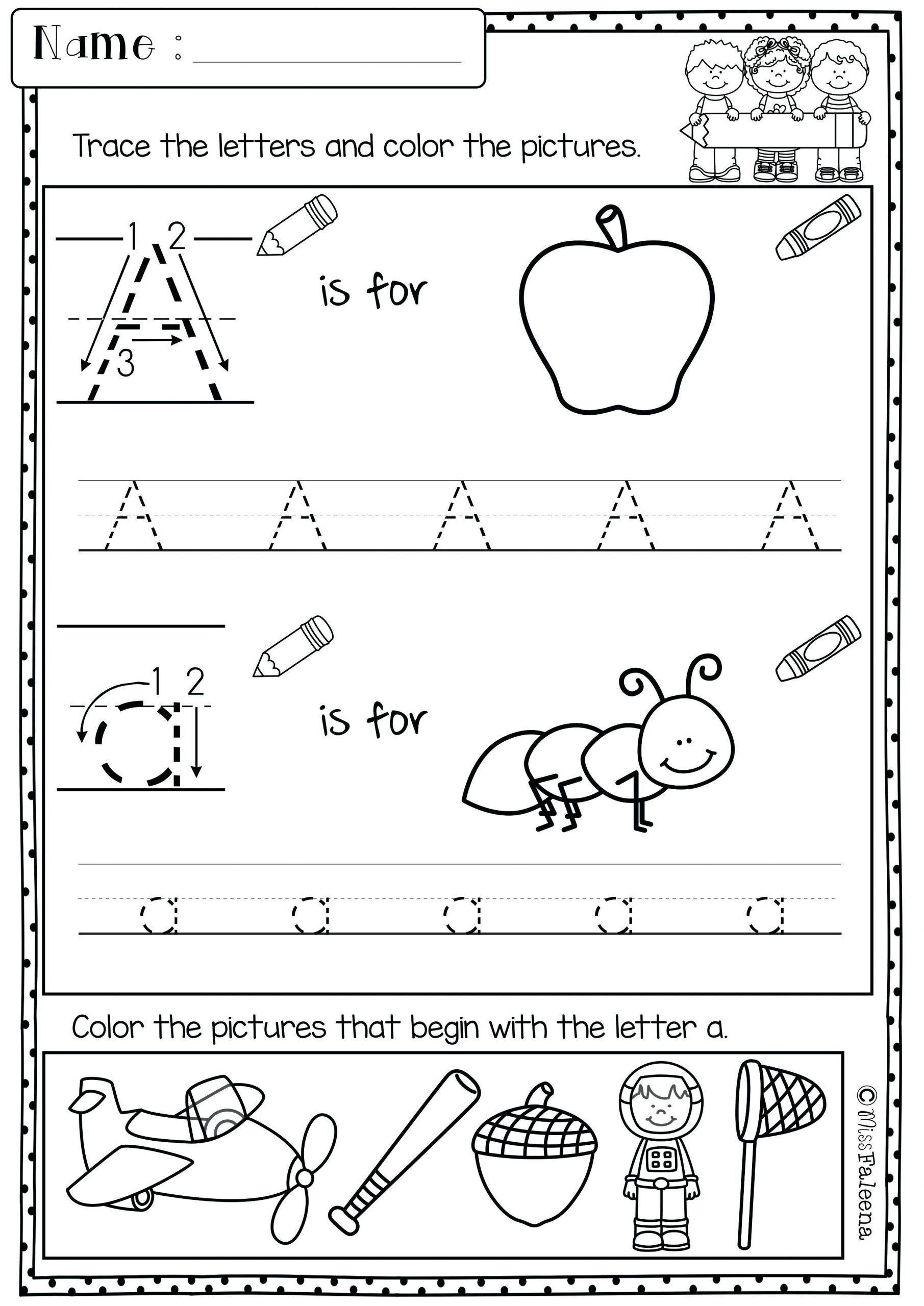 Morning Worksheets For Kindergarten Worksheet For