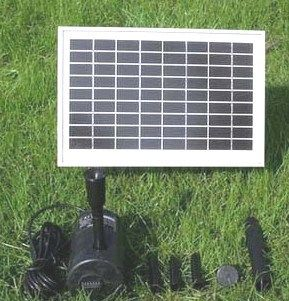 Outdoor Fountain Solar Pump And Solar Panel Kit With 80 Head This Solar Pump Pushes Or Sprays Water Up To With Images Solar Energy Panels Solar Panels Solar Panel Kits
