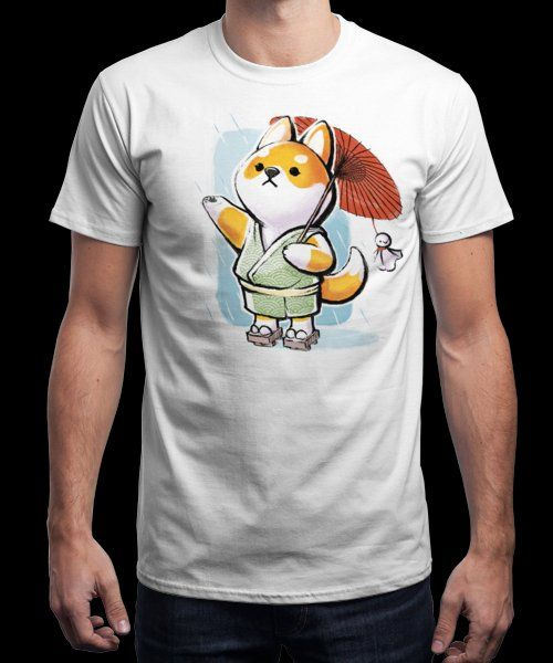 """""""Teru teru bōzu"""" is today's £9/€11/$12 tee for 24 hours only on Pin this… 