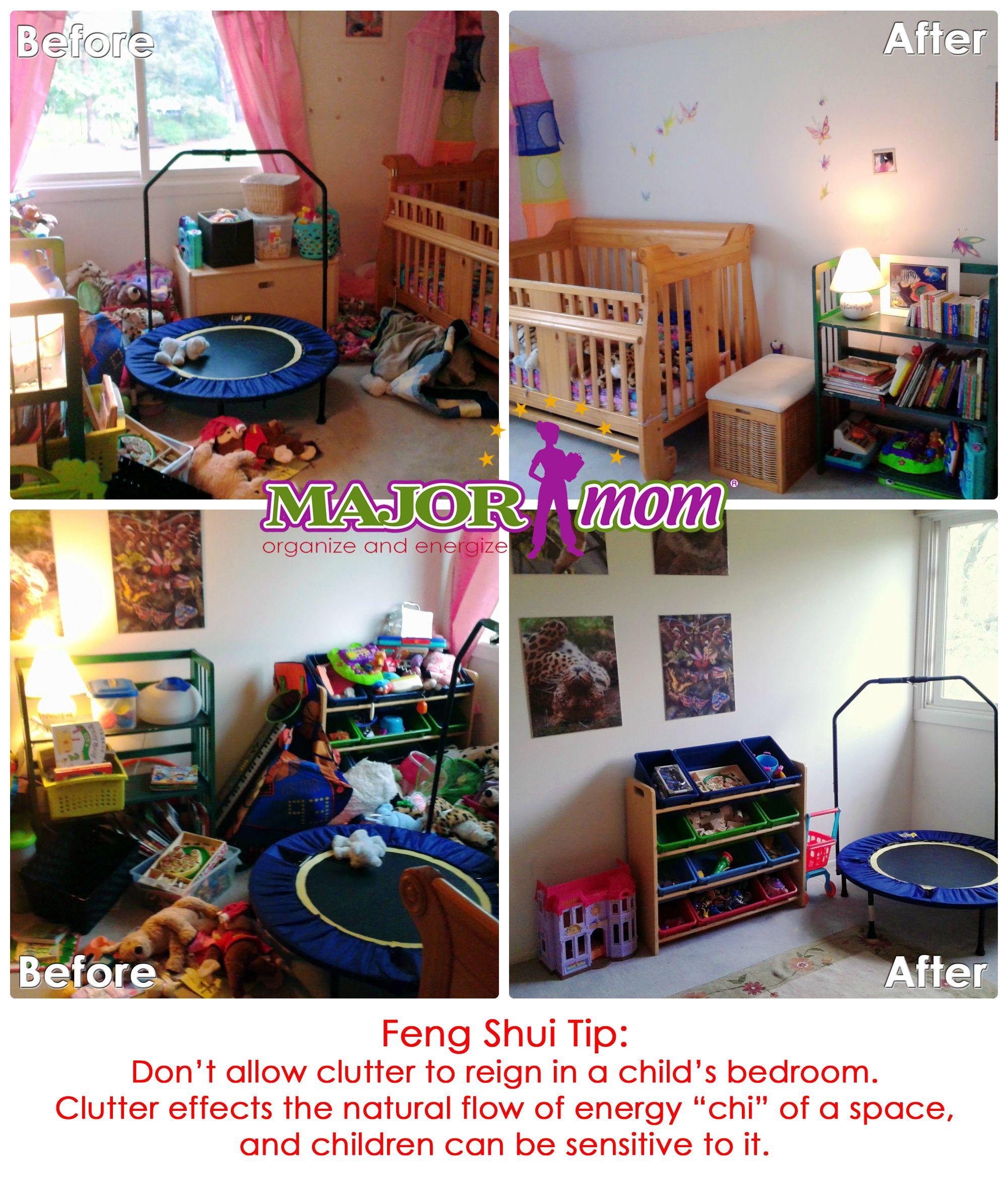 Feng Shui In Childrens Rooms #children #bedroom #declutter