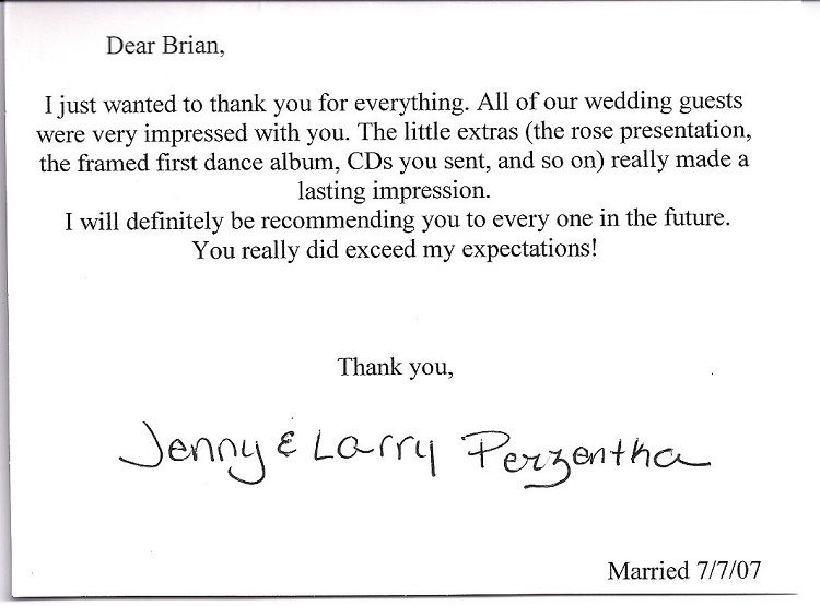 Wedding Thank You Cards For Money