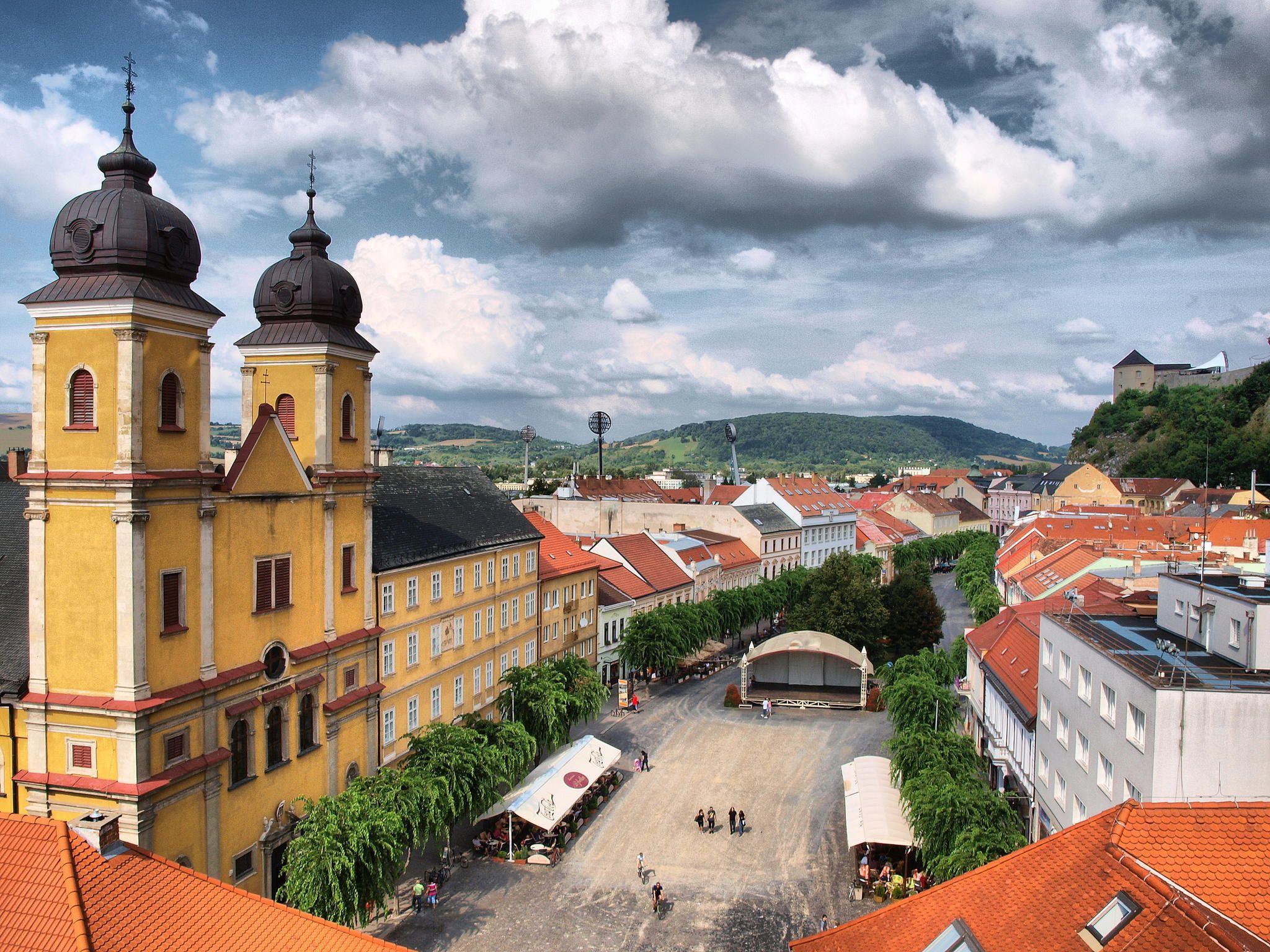 Main Square in Trencin by Kristýna Šprachtová on 500px