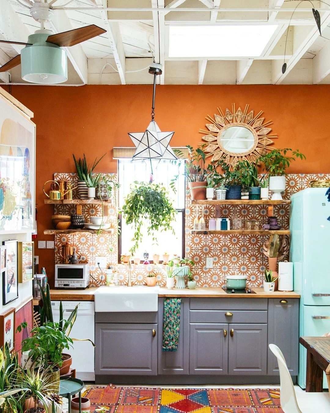 Boho Chic Kitchen Designs And Decor Ideas Bohemian Style Kitchen Bohemian Kitchen Interior Design Kitchen