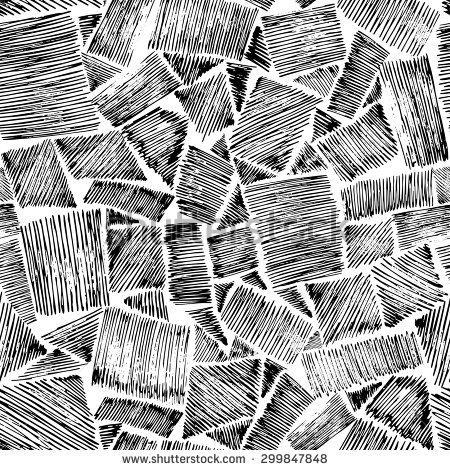 Hand Drawn Backgrounds Vector Illustration Sketch Texture Rough