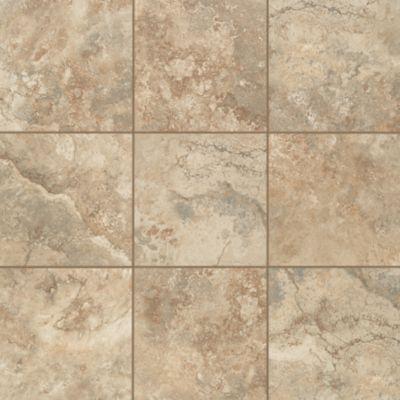Mohawk flooring 39 s villarreal tile in almond spice tile for Mohawk flooring locations