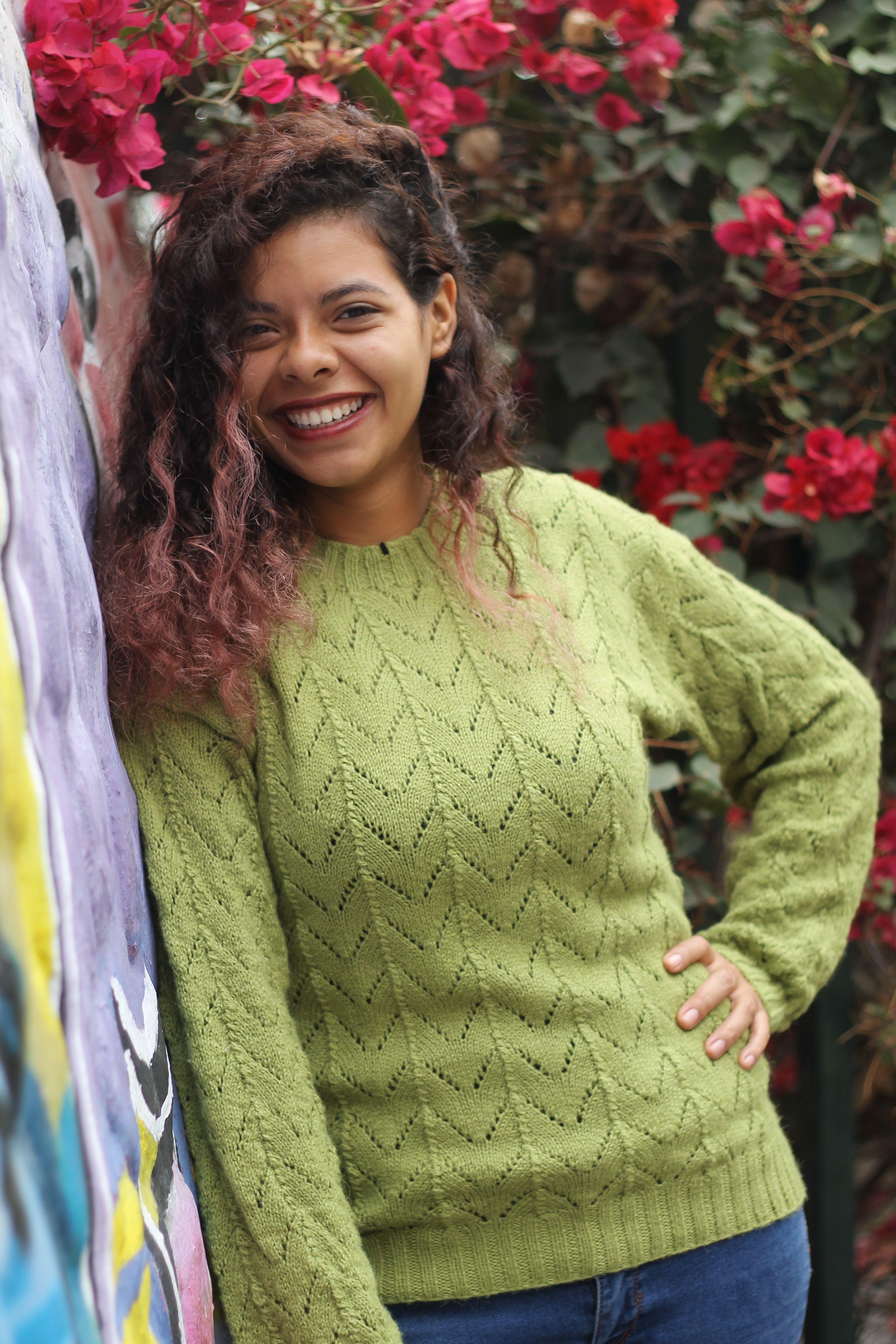 This Sweater For Women Is 100 Handmade By Peruvian Artisans And Is Baby Alpaca Wool The Design Is Nice With Lace S Sweaters For Women Sweaters Alpaca Sweater
