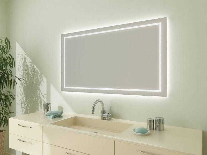 Lichtspiegel Kaufen Nach Mass Aurora Mit Bildern Badspiegel
