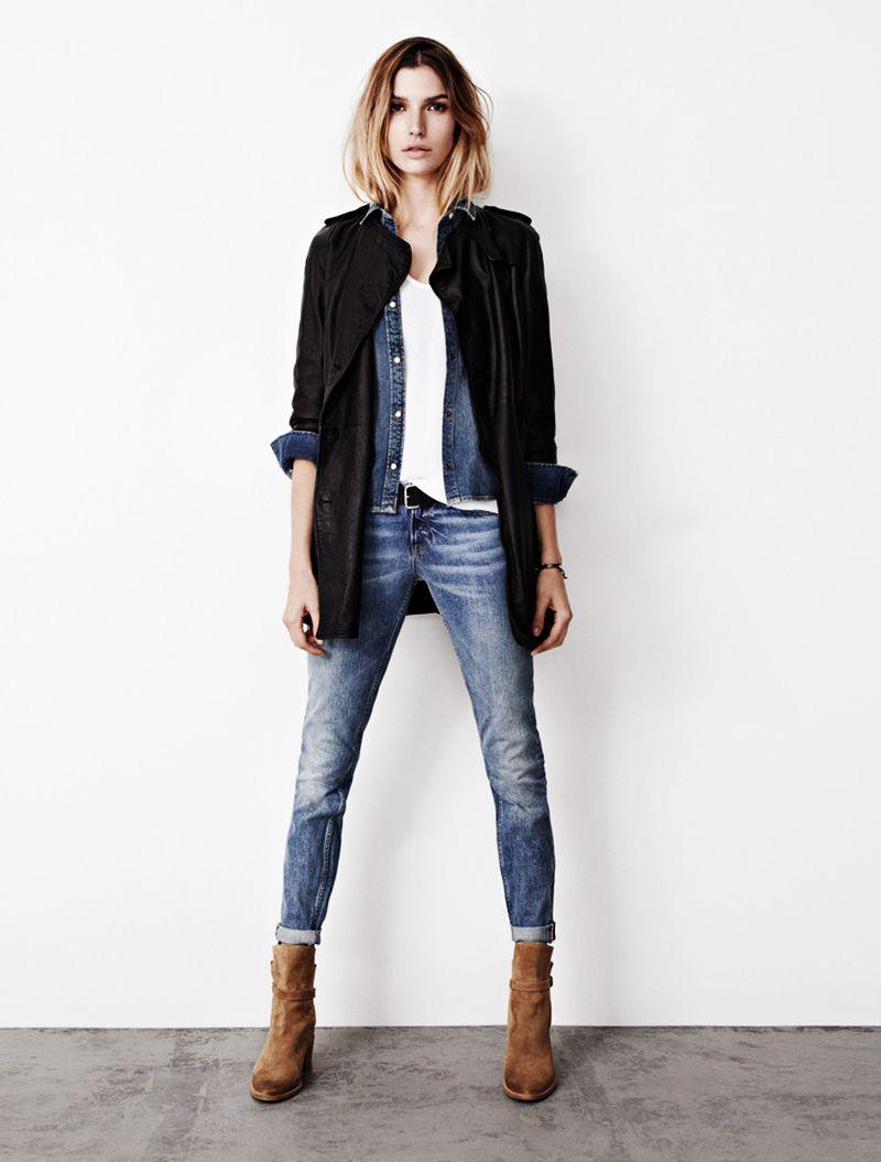 allsaints spring'13 | moda estilo, moda, ropa casual