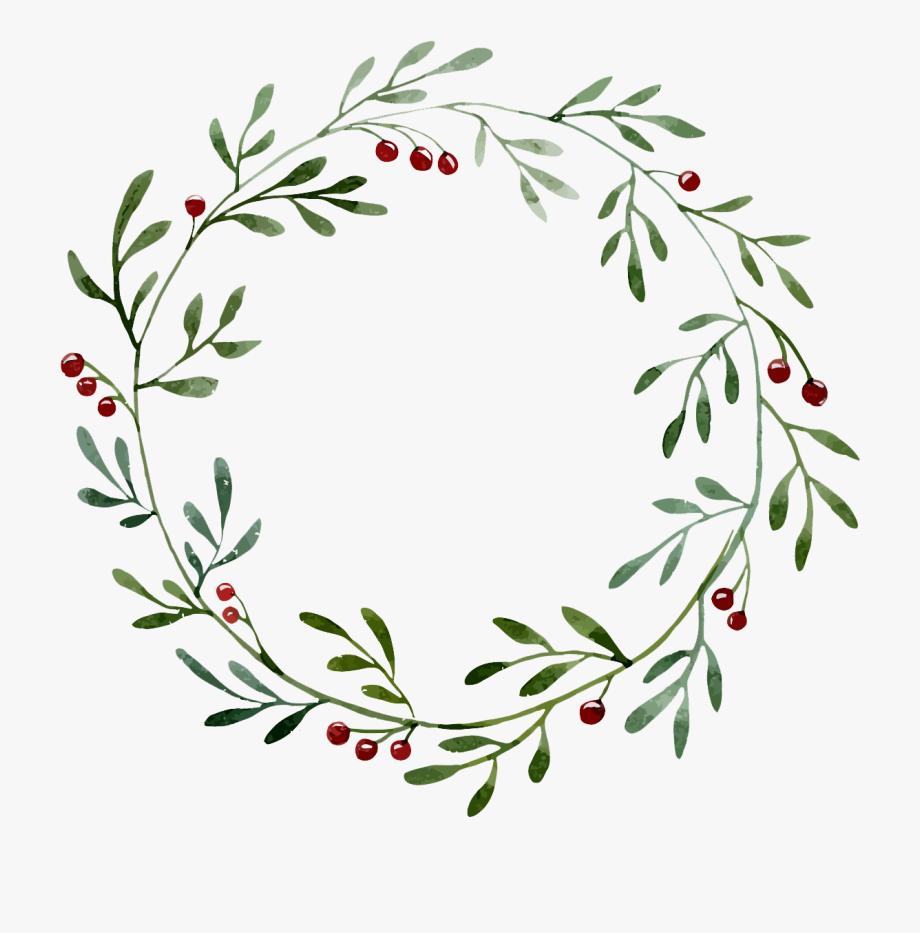 Transparent Wreath Illustration Floral Wreaths Illustration Wreath Drawing