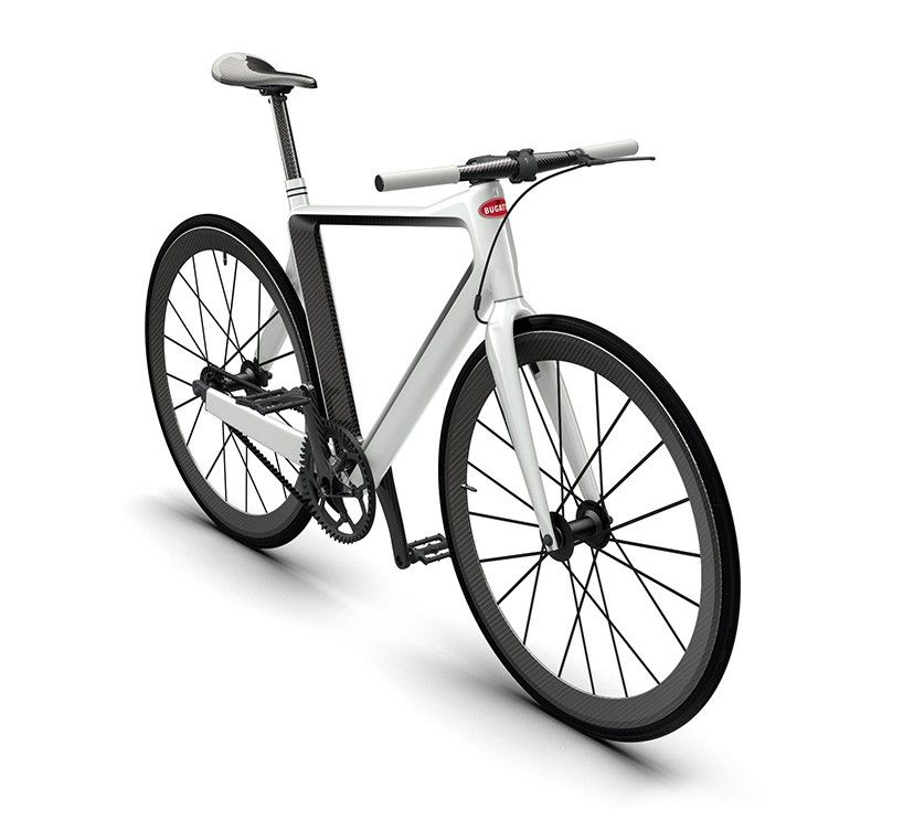 Bugatti X Pg Craft Carbon Fiber Bicycle That Weighs Just 5 Kg