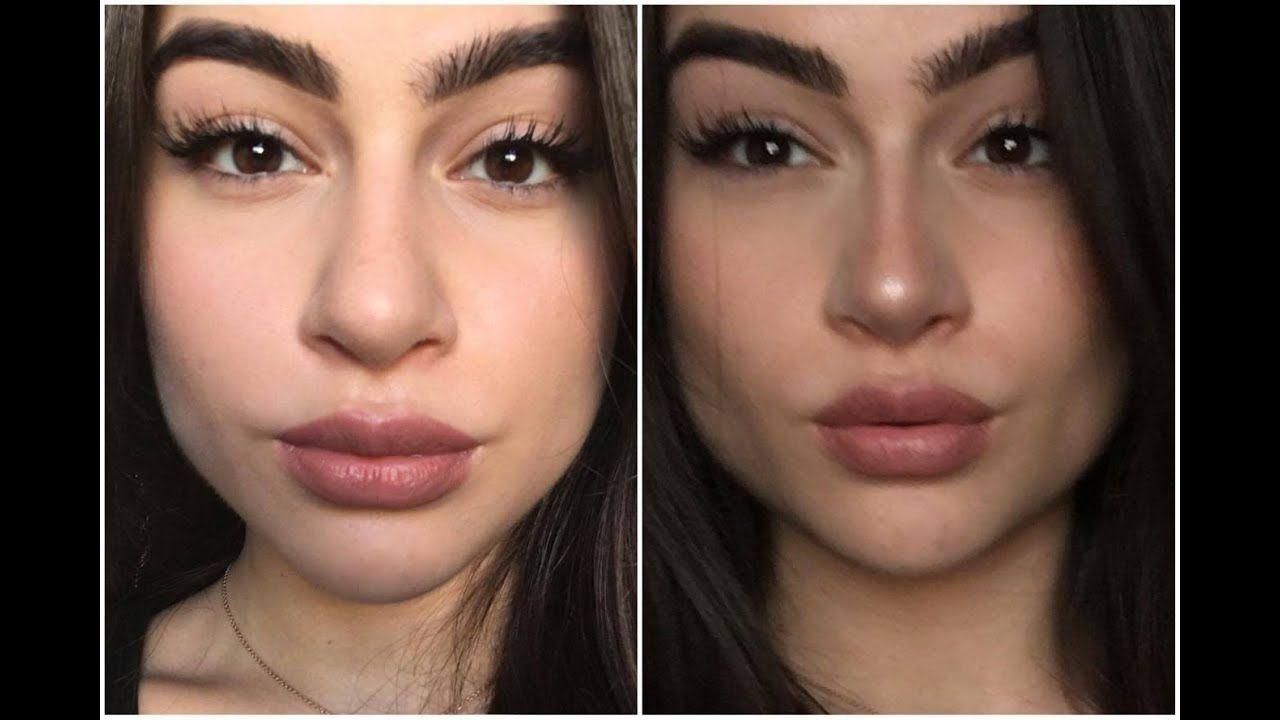 THEPOWEROFMAKEUP : Nose Contouring I Aylin Melisa - YouTube  Nose