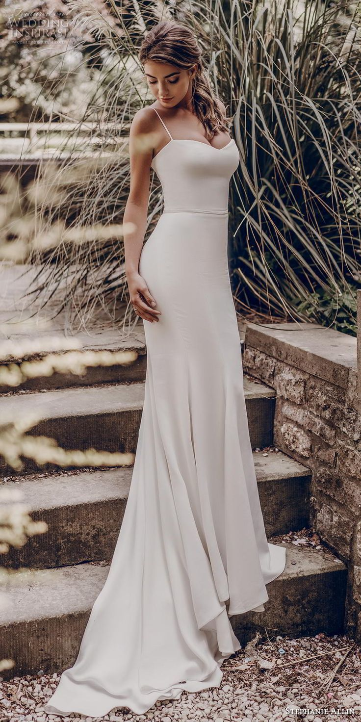 "Stephanie Allin 2019 Wedding Dresses — ""Love Stories"" Bridal Collection 