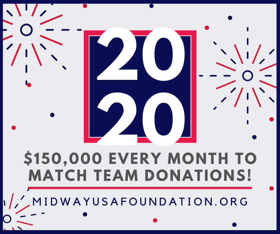 MidwayUSA Foundation Announced 2020 Matching Program in