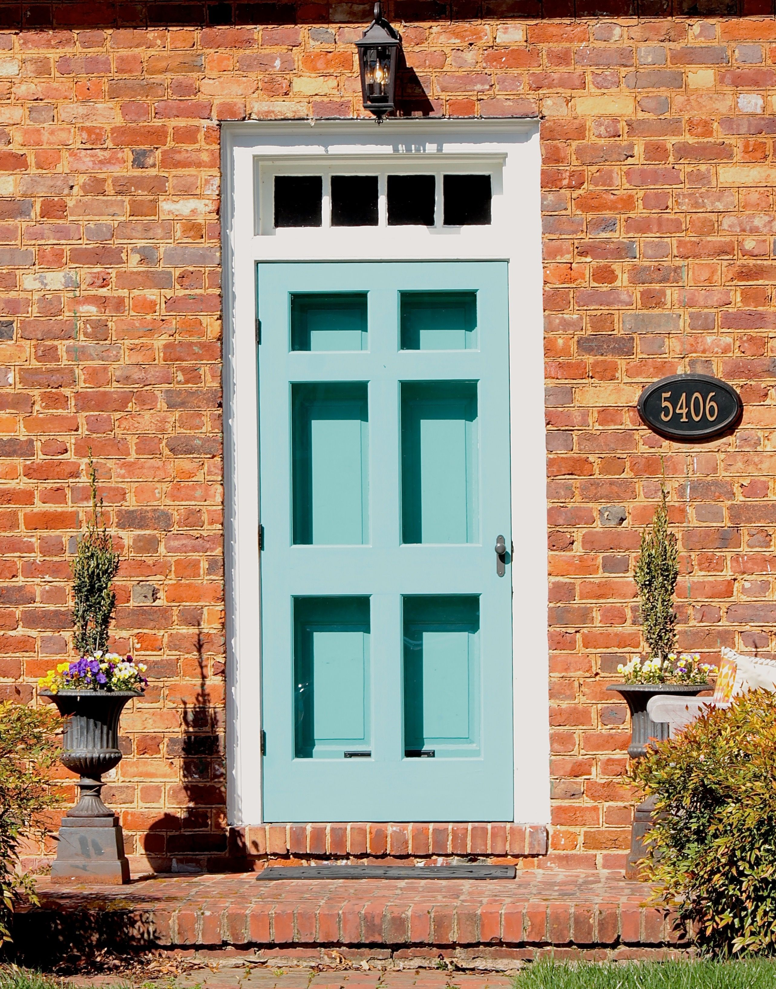 Front Door Color For Orange Brick House Google Search