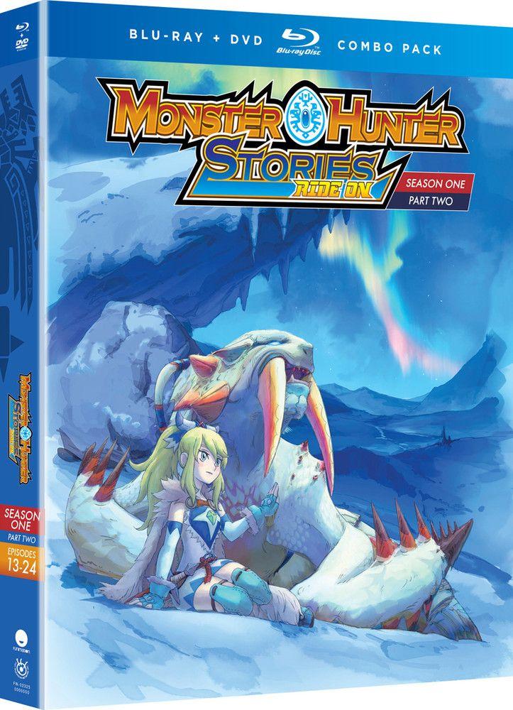 Monster Hunter Stories Ride On Season 1 Part 2 Bluray/DVD