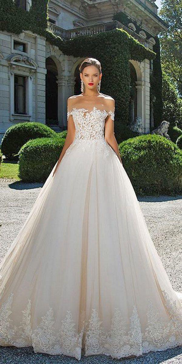 ab542fa5d1 Gorgeous A Line Wedding Dresses ❤ See more  http   www.weddingforward