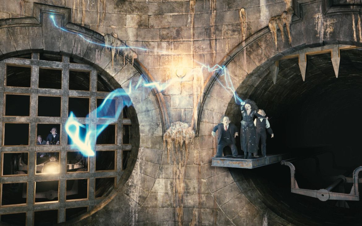 Harry Potter and the Escape From Gringotts Orlando