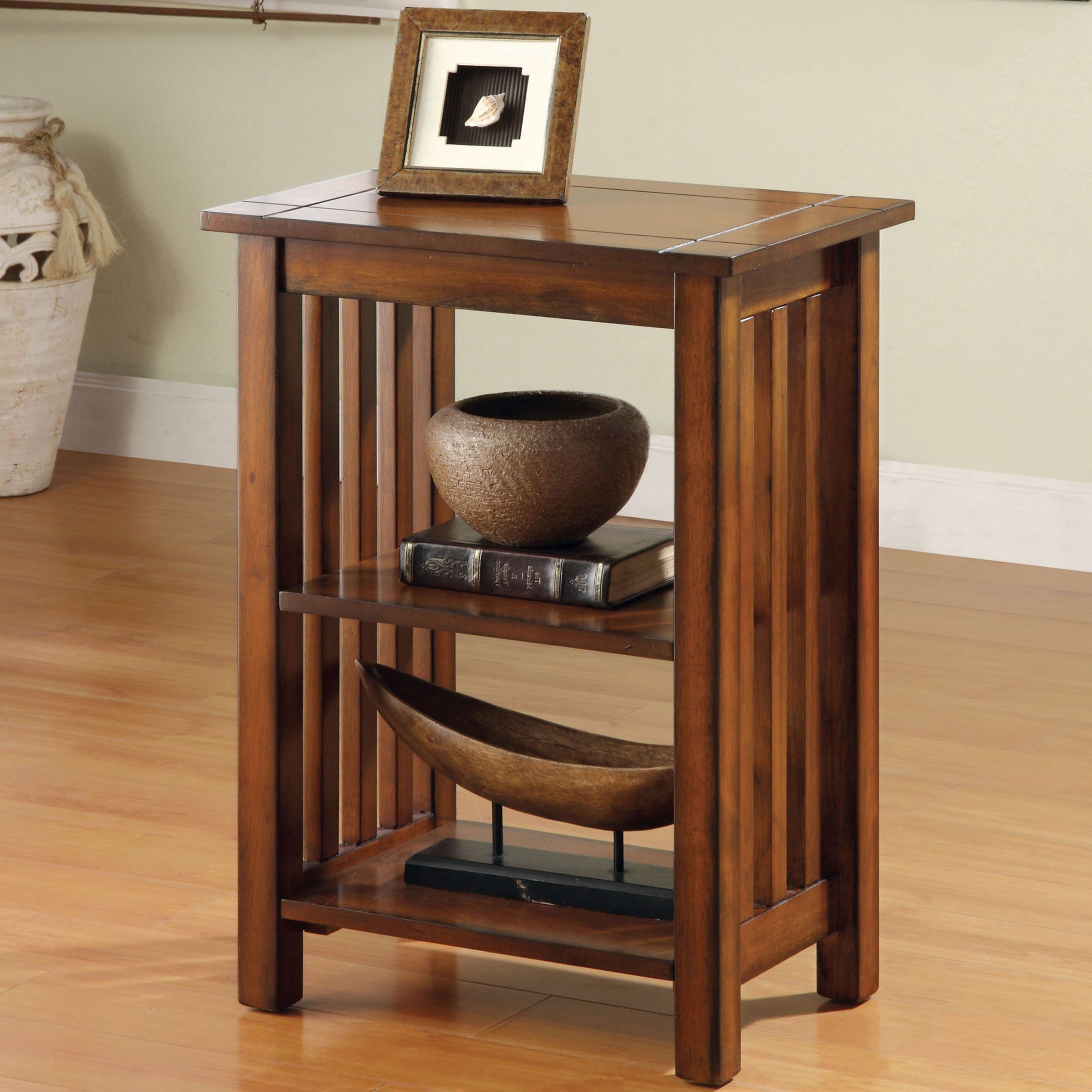 Furniture Of America U0027Valentinu0027 Antique Oak Mission Style End Table    Overstock™ Shopping   Great Deals On Furniture Of America Coffee, Sofa U0026 End  Tables