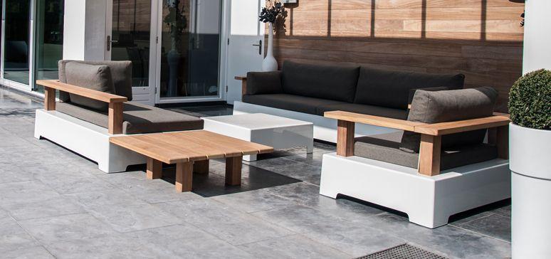 Charming Fixform Roy Garden Lounge Sofas, Designed By Bart Christiaans U2013 Holland.