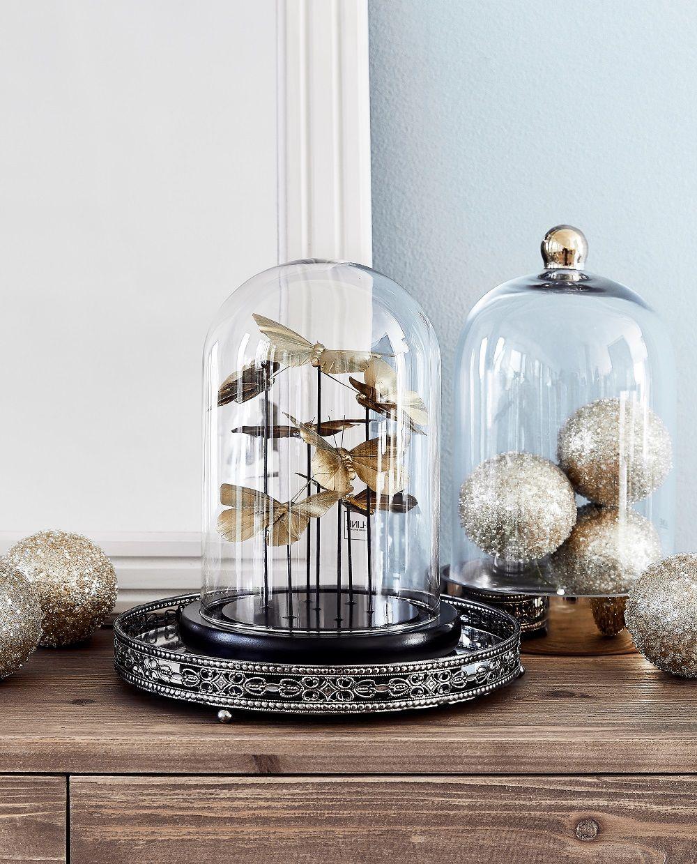 charming einfache dekoration und mobel deine persoenliche goldene schallplatte 2 #1: Deko-Glasglocke Bell