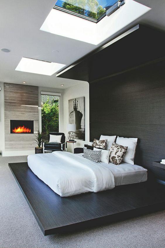 Creativo #diseño para #habitaciones #modernas donde el pedestal de