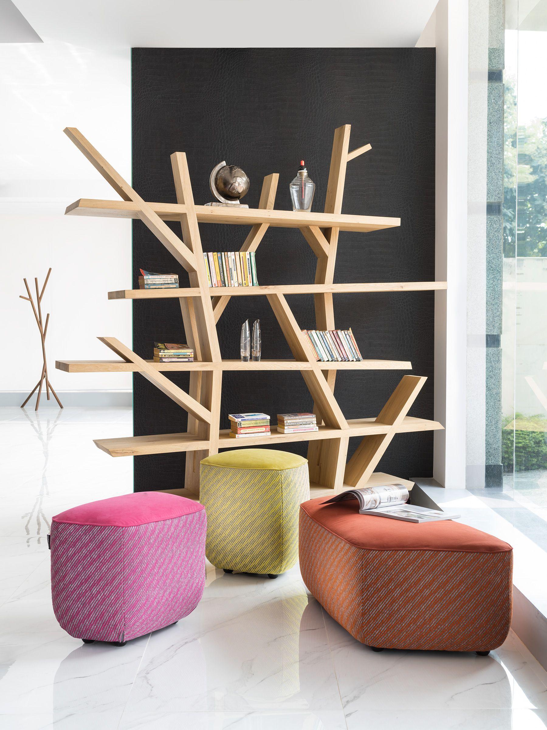 Roche Bobois New Delhi India Legend Bookcase Showroom Display Deco Maison Mobilier Meuble Sejour