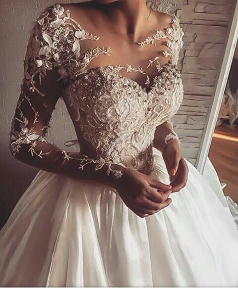Custom Long Sleeve Wedding Dresses by Darius Bridal | Couture ...