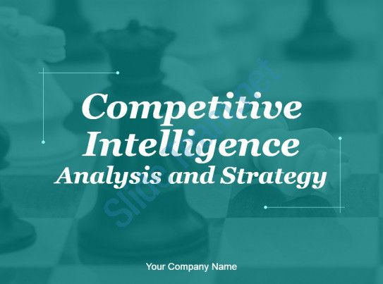 competitive intelligence analysis and strategy powerpoint