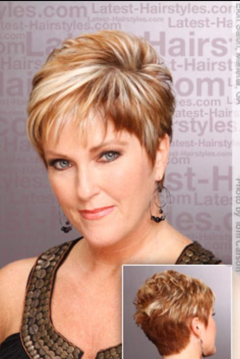 Short Hairstyles For Women In Their 50s - Best Short Hair Styles