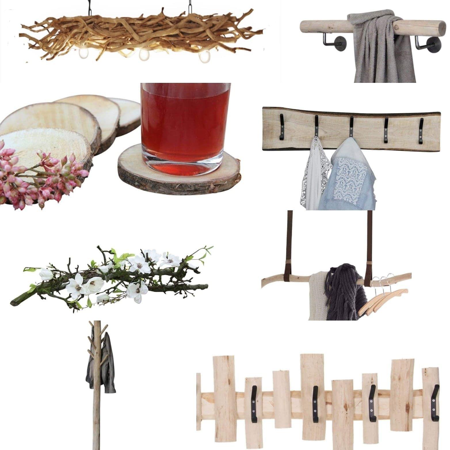 Natuurlijke Materialen Woondecoratie Natuurlijk Hout Houten Lamp Natuurlijke Materialen