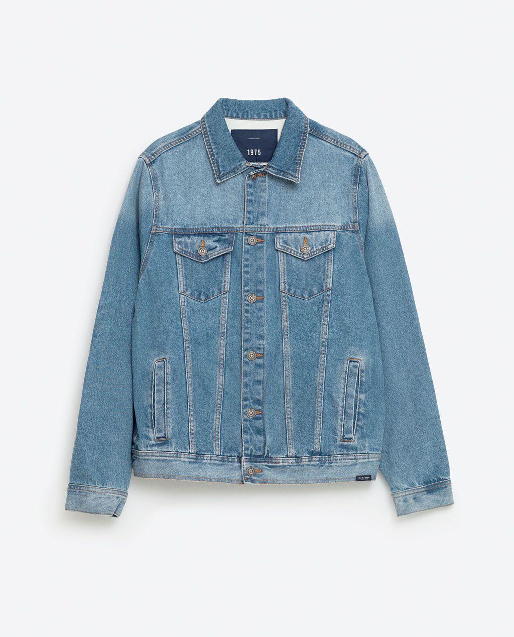 Image 8 Of Denim Jacket From Zara [ 1269 x 1024 Pixel ]
