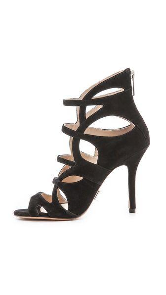 852efd8d361 Michael Kors Cutout Sandals. Michael Kors Cutout Sandals Peep Toe Wedges