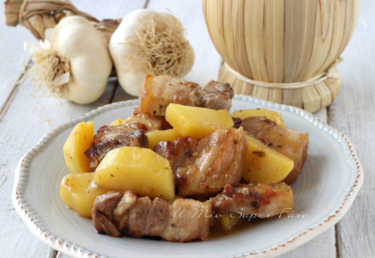 Photo of SWEET PORK tender with CREAMY POTATOES