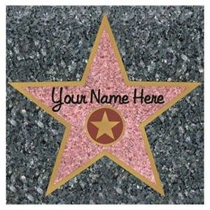 hollywood theme party ideas make your own walk of fame star