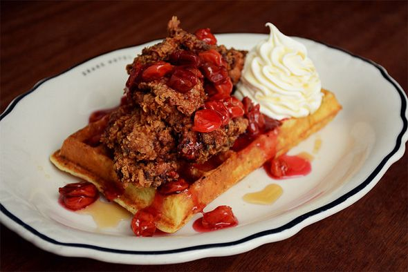 The Top Ten Chicken And Waffles In Toronto Favorite Places