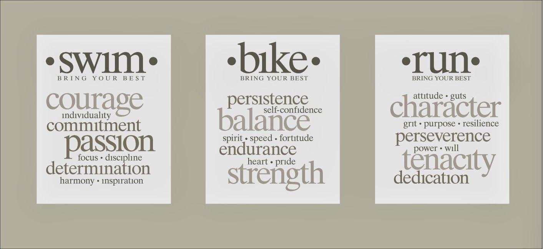 Swim Bike Run I Can T I Need To Train Triathlon Quotes Triathlon Motivation Triathlon