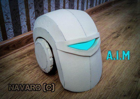 A I M Helmet Aim Robot Cosplay A I M Cosplay Helmet Robot