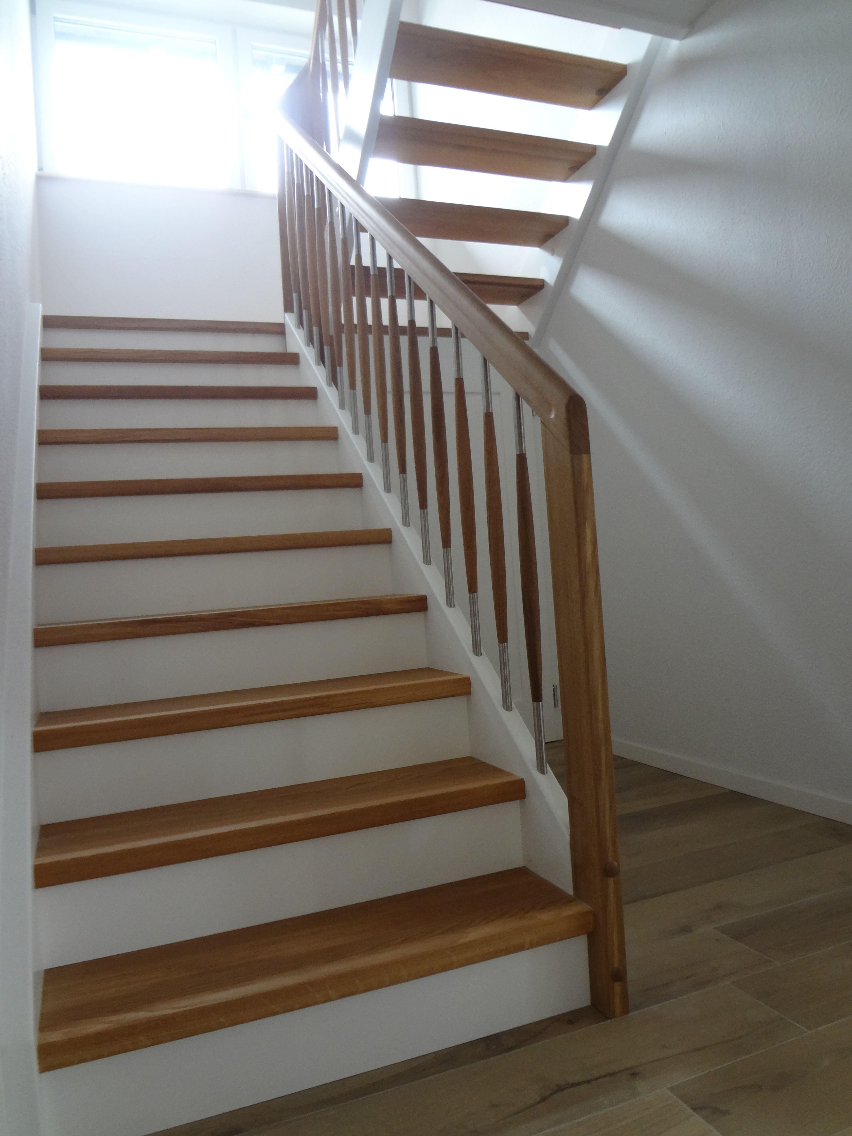 treppe halbgewendelt