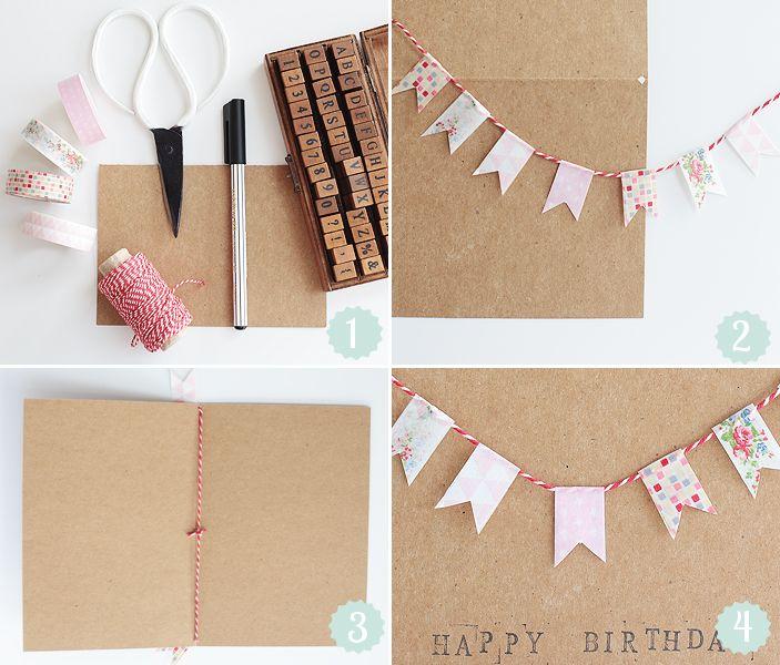 Ausgefallene Geburtstagskarten Selber Basteln 1