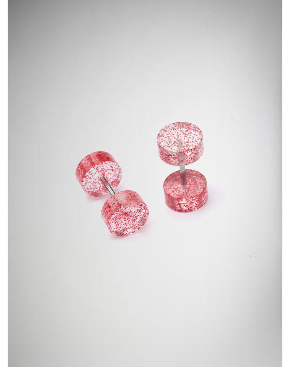 Fake belly piercing  Red Glitter Fake Plug Set  Fashion Jewelry Piercings  Pinterest