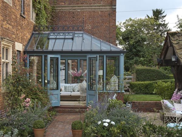 Love this! | Conservatory design, Conservatory garden ...