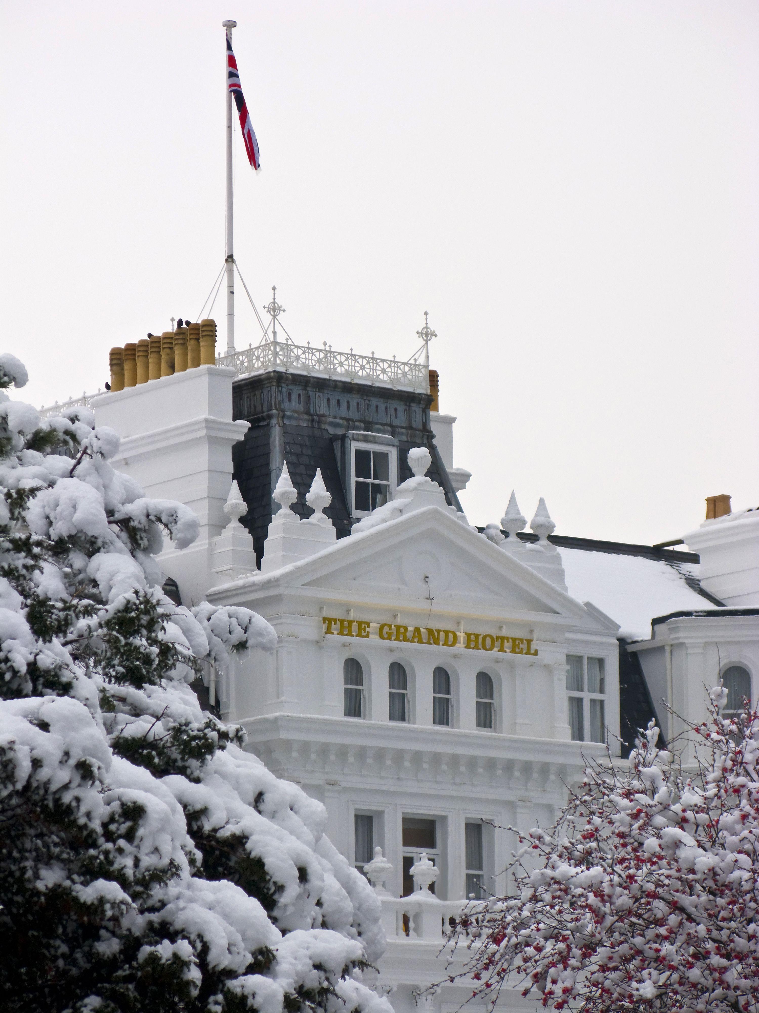 Winter Wonderland at the Grand Hotel   Winter wonderland ...