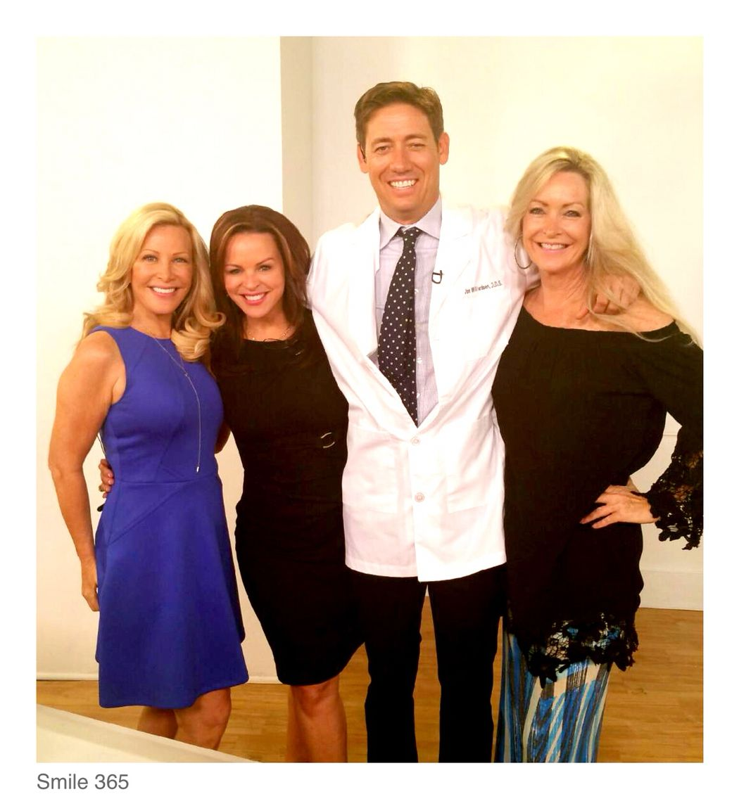 Check out Dr.Joe willardsen and I on Evine Live TV w our new product #Smile365