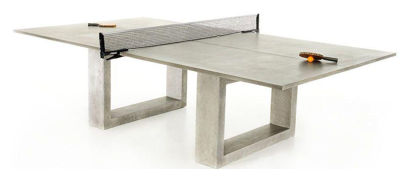Umwandelbare Esstisch Tischtennisplatte James De Wulf